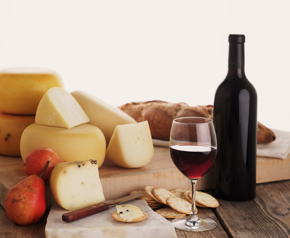 Wine and cheese 3